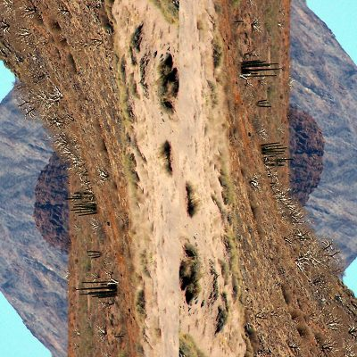 Tableau digigraphique - Collection découverte - Refugio - Mer de Cortez - Mexique - 2006