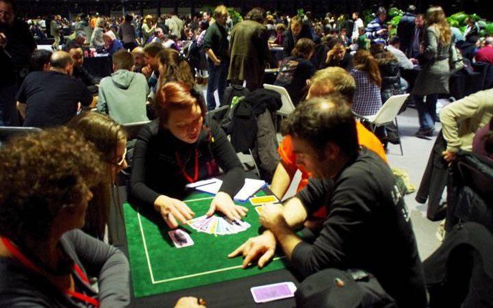 Festival international des jeux 2012 – Jeu éducatif - Jeu des Sages - Salle de jeux