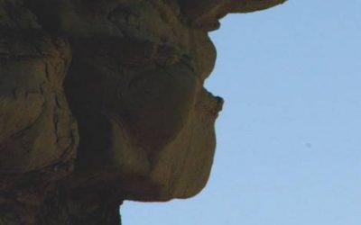 Galerie Sculptures - Le Voyageur Argentine Valle de Jose de Jachal