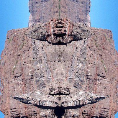 Tableau digigraphique - Collection Miroir - Ballena - Mer de Cortez - Mexique - 2006
