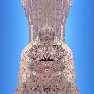 Tableau digigraphique - Collection Miroir - Ixchel - Mer de Cortez - Mexique - 2006