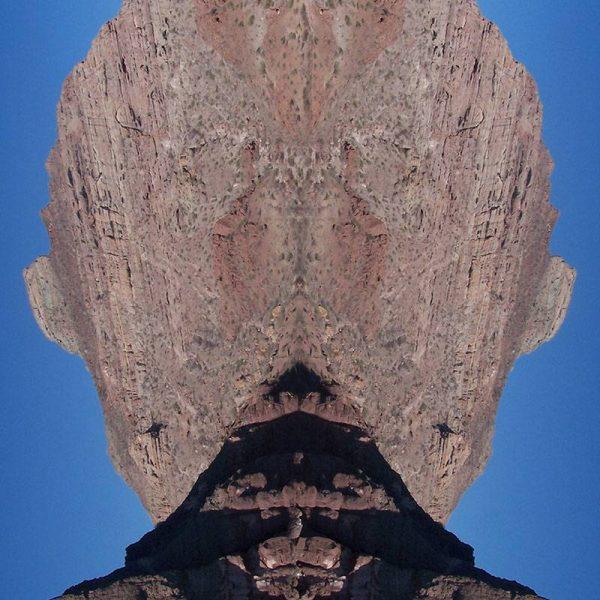 Tableau digigraphique - Collection Miroir - Tenue de Soirée - Mer de Cortez - Mexique - 2006