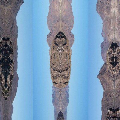 Tableau digigraphique - Collection Séries - Les Coyotes - Mer de Cortez - Mexique - 2006