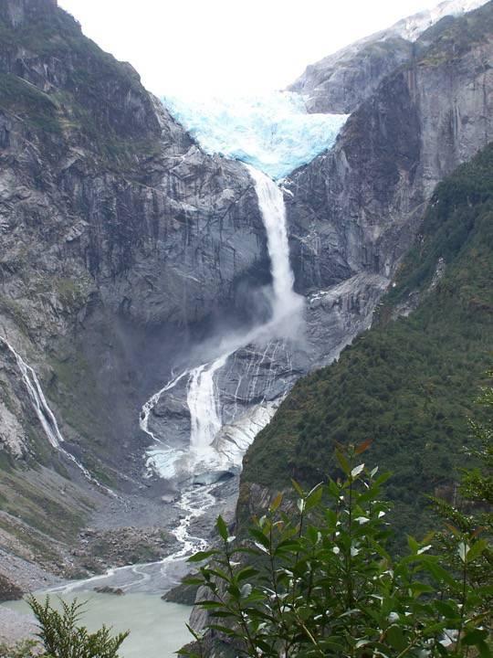 Peinture - Vers glacier Colgan